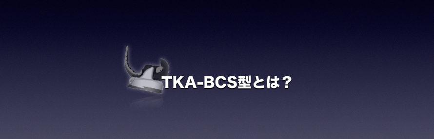 TKA-BCS型とは?